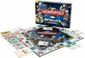 Monopoly Metallica Rock Band - Engelstalig