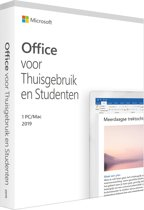 Microsoft Office 2019 Home & Student - Eenmali