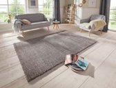 Hoogpolig vloerkleed Orly Elle Decor - grijs 200x290 cm