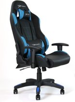 E-Win Bureaustoel, Gamestoel / Gaming Stoel, Racestoel / Racing Stoel, Calling Series Gaming Chair - Blauw