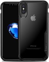 Ipaky Hybrid Back Case voor uw Apple iPhone X Zwart