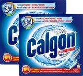 Calgon Ontkalkingstabletten voor Wasmachines - 2 x 17 tabletten - Grootverpakking