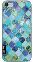 Casetastic Softcover Apple iPhone 7 / 8 - Aqua Moroccan Tiles