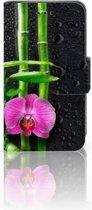 Samsung Galaxy Trend 2 Boekhoesje Design Orchidee