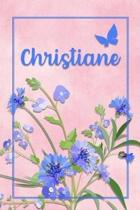 Christiane: Personalized Journal with Her German Name (Mein Tagebuch)