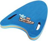 Waimea Zwemplank Pijlvorm EVA Foam 15-30 Kg - Blauw/Fluororanje/Wit/Zwart