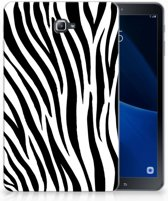 Samsung Galaxy Tab A 10.1 (2016) TPU Hoesje Design Zebra