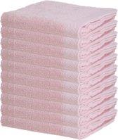 Badhanddoeken – 50x100 cm – Roze – 10 stuks