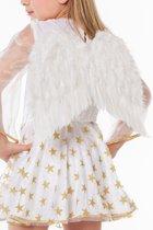 Engelen vleugel kind voor wit
