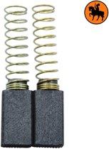 Koolborstelset voor AEG Taille-Haies HS70 - 5x8x14mm