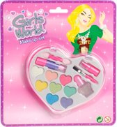 Make-Up Set Hart Op Kaart