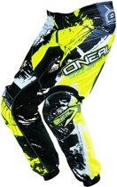 O'Neal Element Pants Shocker Black/Neon Yellow-28