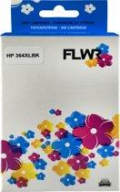 FLWR - Inktcartridge / 364XL zwart - Geschikt voor HP