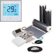 4,0M² 600 Watt Vloerverwarming elektrisch onder laminaat en hout set