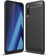 Samsung Galaxy A50 hoesje - Rugged TPU Case - zwart