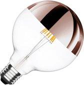 E27 6W Reflecterende Led Lamp 2000-25000k Dimbaar G125