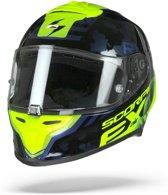 Scorpion Exo-R1 Air Ogi Zwart Neon Geel Integraalhelm - Motorhelm - Maat L