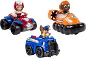 PAW Patrol Rescue Racers Chase, Zuma & Ryder - Speelset