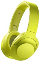 Sony h.ear MDR-100ABN - Draadloze Hi-Res audio over-ear koptelefoon met Noise Cancelling - Geel