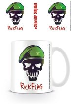 SUICIDE SQUAD RICK FLAG SKULL Mugs
