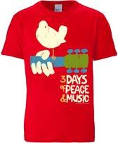 Logoshirt T-Shirt Woodstock - 3 Days Of Peace and Music