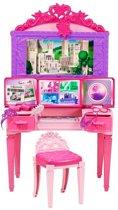 Barbie Super 2 in 1 Kaptafel Speelset