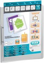 12x Elba Personaliseerbare ringmap Polyvision transparant