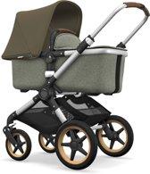 Bugaboo Fox Kinderwagen - Aluminium / Gemȇleerd Groen / Olijfgroen