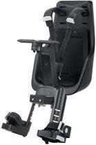 Bobike Mini Exclusive Fietsstoeltje Voor - Urban Black