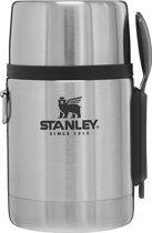 Stanley The Stainless Steel All-in-One Food Jar Thermosfles met Spork - 530 ml - RVS