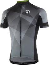 Rogelli Ispirato 2.0 Fietsshirt - Heren - Korte mouwen - Maat XL - Grijs/Geel