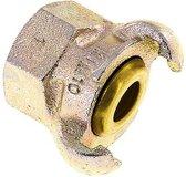 Gietijzer DN 17 DIN 3498 compressor klauwkoppeling Rp 1 inch Binnendraad - CL42-17-F-IB-100