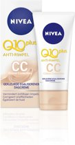 NIVEA Q10plus Anti-Rimpel Gekleurde Egaliserende CC Cream SPF 15 - 50 ml