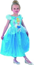 Disney Prinsessenjurk Assepoester Storytime - Kostuum Kind - Maat 116/122 - Carnavalskleding