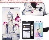 Buddha Boekmodel Hoesje iPhone 8 / 7