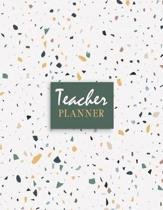 Teacher Planner: 2019-2020 Lesson Weekly and Monthly Teacher Planner Academic Year Lesson Plan and Record Book (September 2019 - August