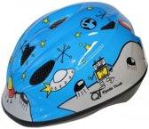 Cycle Tech Helm Space Blauw Maat 46/52 Cm