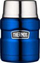Thermos King Voedseldrager - 0L47 - Metalic Blauw