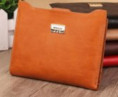 Portemonnee Dames - Oranje - Uitneembaar Compartiment