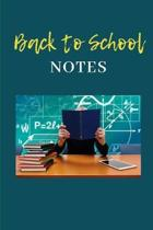 Back to School: Notebook 6x9, lined, 120 pgs