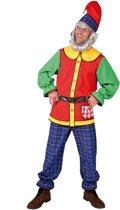 Dwerg & Kabouter Kostuum   Kabouter Met Hysterische Kleermaker   Man   Medium   Carnaval kostuum   Verkleedkleding