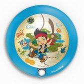 Philips Disney nachtlampje Piraat Jake met Bewegingssensor – 9x9x2cm | Bewegingslampje | Geruststellend Veiligheidslampje voor uw Kind | Nachtverlichting voor in de Kinderkamer
