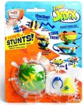 Stunt Jaxx Stunttol – 17x13x4cm | Speelgoed voor Jongens en Meisjes | Draai en Spin Speelgoed | Tollen