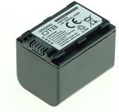 OTB Camera accu compatibel met Sony NP-FH70 en NP-FP70 - 1300 mAh