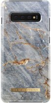 iDeal of Sweden Samsung Galaxy S10+ Fashion Back Case Royal Grey Marble