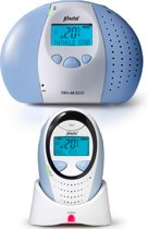 Alecto DBX-88 ECO Dect Babyfoon - Blauw/Wit - Display