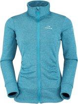 Eider Palomo Jacket Women - Dames - fleecevest - blauw/groen - maat 42