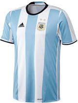 Adidas Argentinië Thuis Shirt - Maat XL - Kleur Wit/Sky Blue