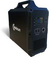 Portable Solar Generator/Portable Power Station/Accu   Draagbaar stopcontact 230V / 1000W / 1500Wh   Mobisun