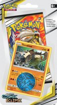 Pokémon Sun & Moon Cosmic Eclipse Checklane Booster Terrakien - Pokémon Kaarten